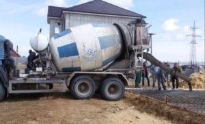 Заливка фундамента из бетона в Реутове