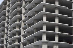 Монолитный бетонный каркас дома